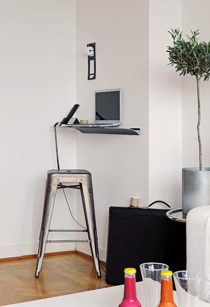Foto de Puertas abiertas: un apartamento de 38 metros cuadrados de inspiración escandinava (8/12)