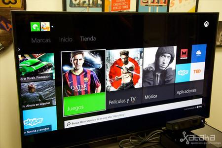 Un mayor protagonismo a los contenidos del Xbox One: se actualiza SmartGlass y Xbox Video, y se expande OneGuide