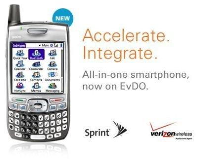 Verizon ya vende la Treo 700w