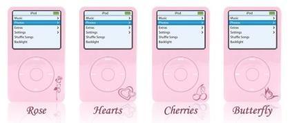 iPod rosa de Colorware