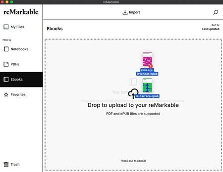 reMarkable app