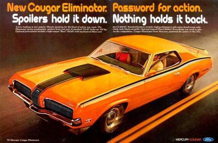 1970 Mercury Cougar Eliminator Boss 302