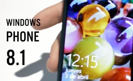 Toma de contacto con las novedades de Windows Phone 8.1 en un Nokia Lumia 930