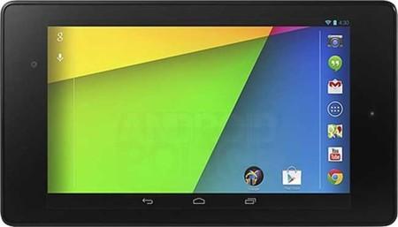 Se filtran más imágenes del nuevo Nexus 7 y su nuevo fondo de pantalla