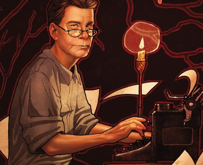 Comic biografía Stephen King