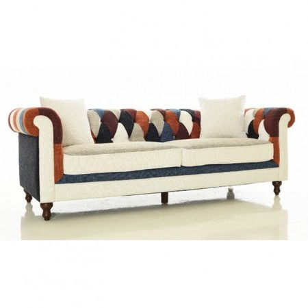 Sofa Chesterfield Patchwork 3 Plazasfurnmodcom