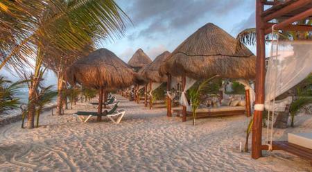 Los tres mejores hoteles con playas nudistas de México