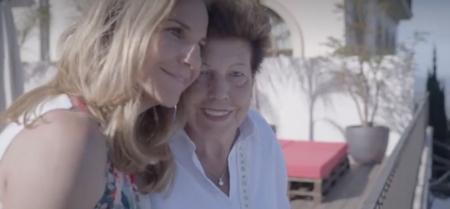 Arancha con su madre en el programa de La Sexta