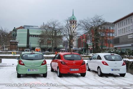 Opel Corsa 2010, presentación y prueba en Fráncfort (parte 2)