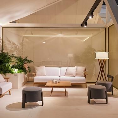 Mobiliario de exterior tan sofisticado y cálido como el de dentro de casa