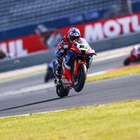 """Álvaro Bautista logró su mejor resultado de 2021 y ya piensa en renovar con Honda: """"He entendido el límite de la moto"""""""