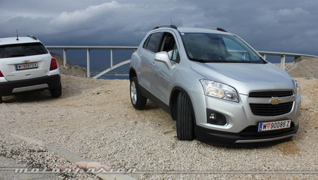Chevrolet Trax 2013 off-road