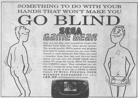 Viejos anuncios de SEGA con referencias claramente sexuales