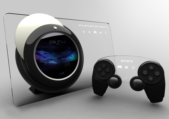 Foto de PS4, concepto (1/4)