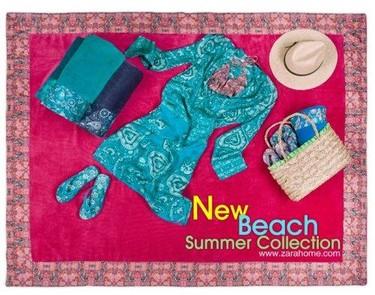 Catálogo Zara Home Beach Collection. Prendas y precios.