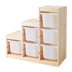 Trofast: sistema de almacenaje para habitaciones infantiles de Ikea