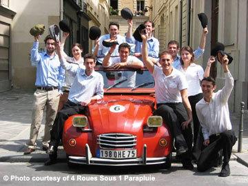 París desde un Citroën 2CV