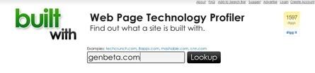 Built with, conociendo las tecnologías que hay detrás de cualquier sitio web