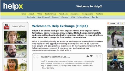 HelpX y otras buenas ideas para conseguir alojamiento gratuito cuando viajas