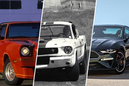 Los Mustangs más especiales de cada generación en 24 fotografías llenas de nostalgia