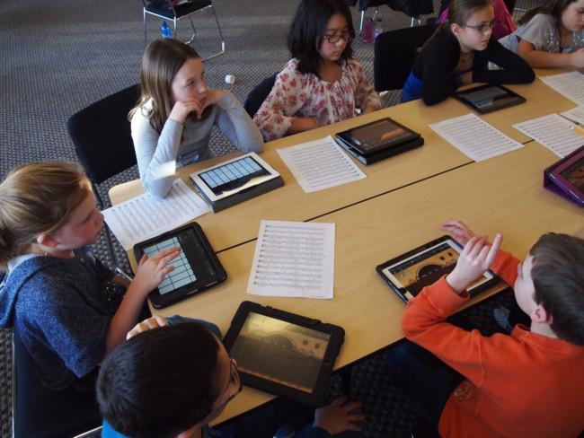 iPad educación