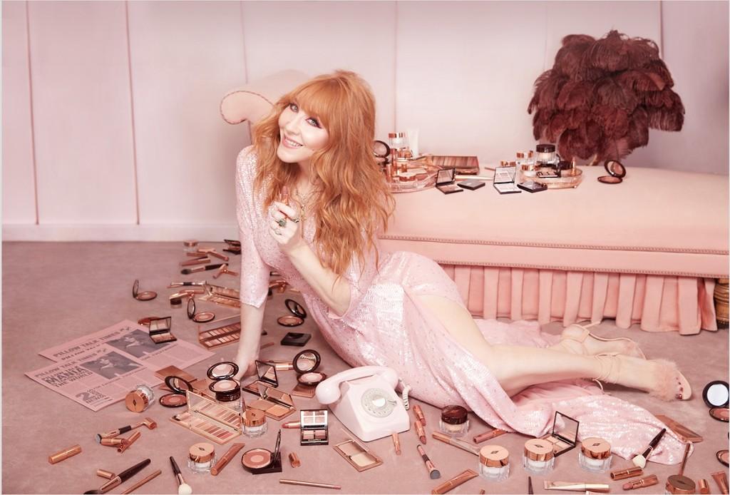 Charlotte Tilbury convierte su color estrella en una colección termina de maquillaje: Pillow Talk para ojos, cara y labios