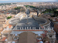 Subir a la cúpula de la Basílica de San Pedro