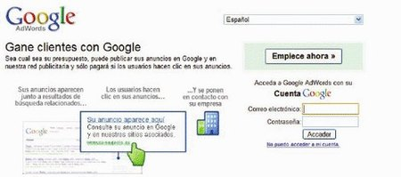 Publicita tu empresa en internet con Google Adwords