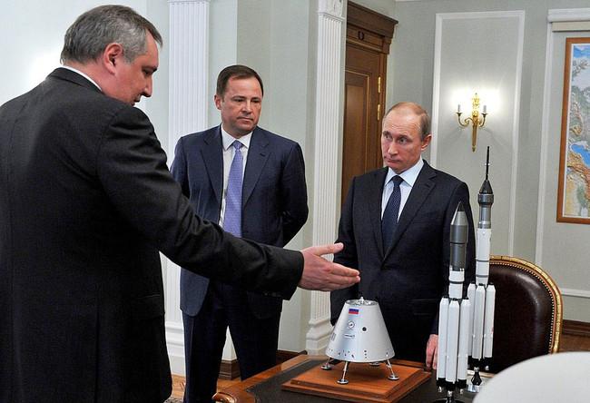 Roscosmos Putin