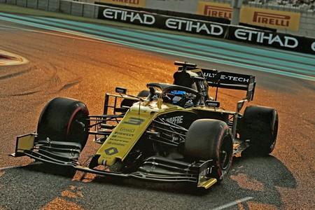 Ricciardo Abu Dabi F1 2019