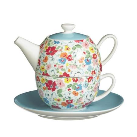 Mews Disty Tea For One Set Set Taza Tetera Cath Kidston 36 Euros