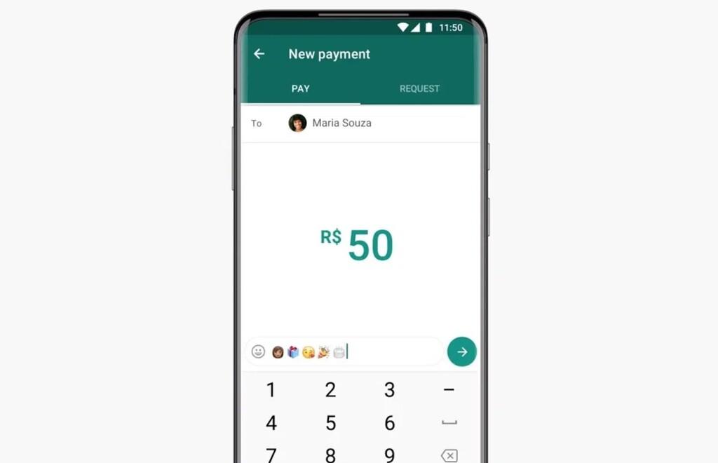 Los pagos vía WhatsApp se reactivan en Brasil, pero solo para enviar dinero de persona a persona