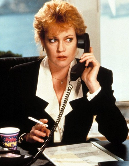 Melanie Griffith en Working Girl
