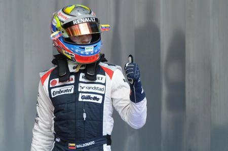 Pastor Maldonado espera continuar en Williams en 2014