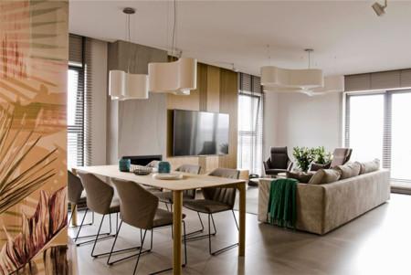Hermoso apartamento totalmente decorado con colores pastel