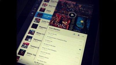 Spotify para el iPad podría llegar en cuestión de semanas