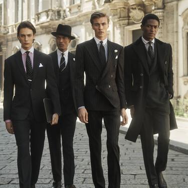 El otoño de Ralph Lauren se llena de elegancia con la campaña de su espectacular línea Purple Label