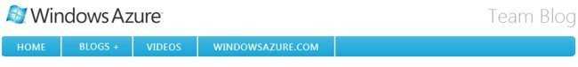 Windows Azure Blog