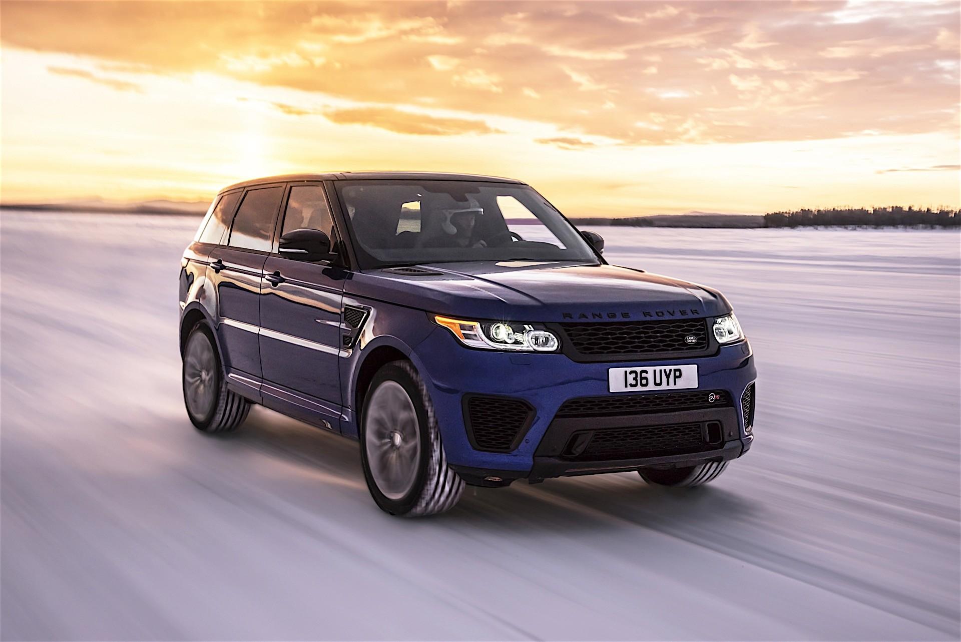 Foto de Range Rover Sport SVR Aceleración (1/17)
