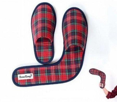 Zapatilla boomerang: para recodar viejos momentos
