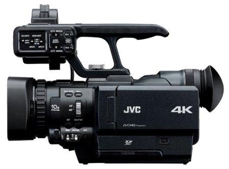 La videocámara JVC GY-HMQ10 graba en super alta definición