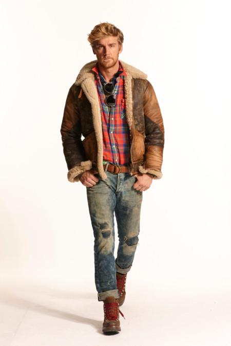 """Polo de Ralph Lauren mantiene su """"estilo americano"""" para el otoño"""