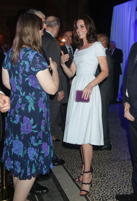 Kate Middleton Museo Historia Natural Look Blanco Preen 2
