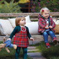 Moda infantil: el estampado de cuadros es el rey de la Navidad