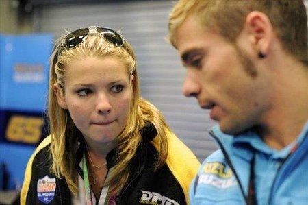 Elena Myers cumplirá uno de sus sueños al subirse a la Suzuki de MotoGP en Indianápolis