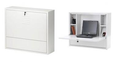 Ikea PS, guarda tu portátil y trabaja con él en poco espacio