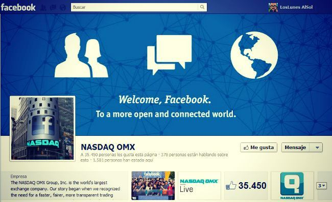 Facebook toca techo