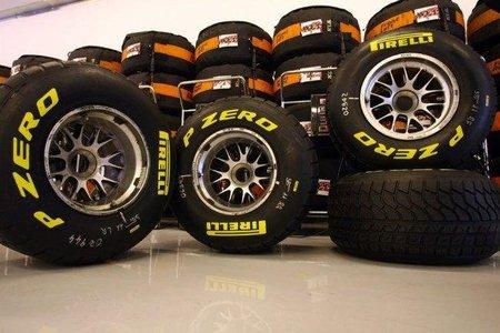 Pirelli propone un código de colores para diferenciar los distintos compuestos de neumáticos
