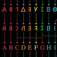 La evolución del alfabeto desde sus formas ancestrales hasta la actualidad, en un gráfico