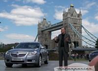 Opel Insignia, su puesta de largo en Londres